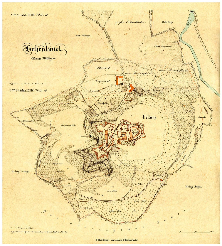 Hohentwiel 1840